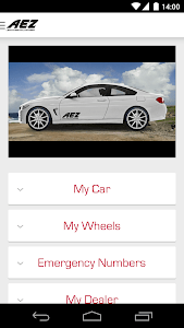 AEZ Wheels Configurator screenshot 4