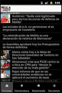 Melilla Hoy screenshot 0