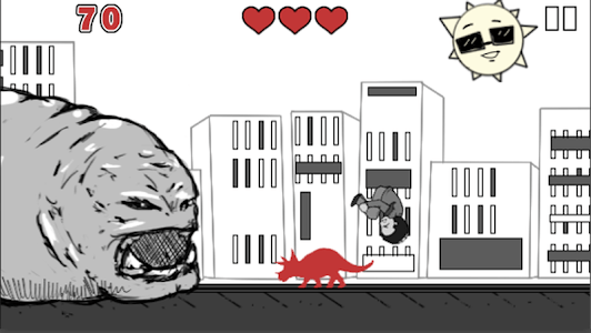 Mega Mad Slug Chew Billy Chase screenshot 2