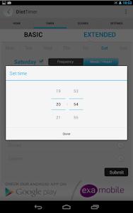 Diet Timer Fast Way XXL ->Slim screenshot 18