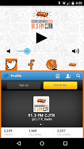 91.3 FM CJTR Regina Radio screenshot 1