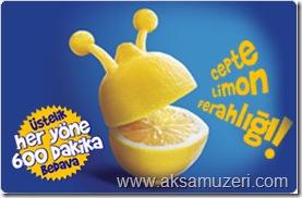 Turkcell Cepte Limon Ferahlığı Kampanya