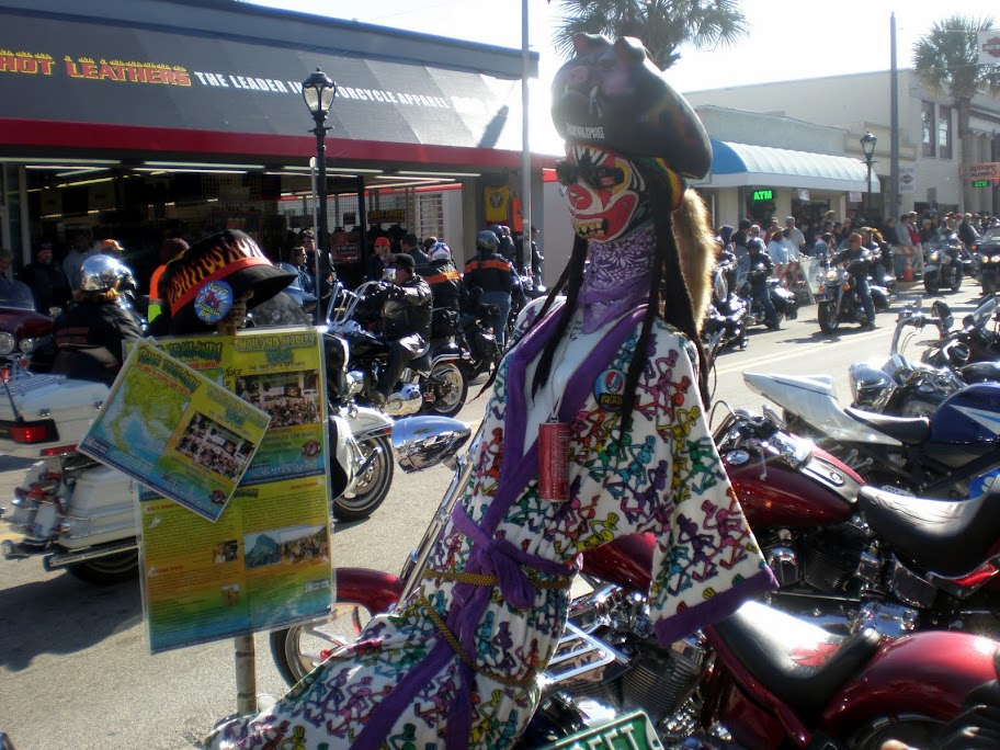 Lots of Weirdness at Bike Week