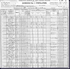 1900 charlesgreenwell census
