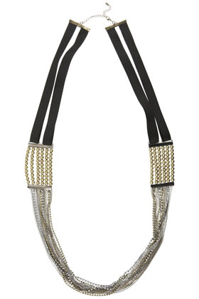 Warehouse Multi Chains Necklace