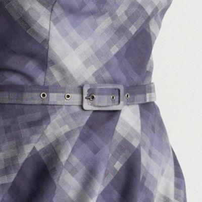 Grey Check Belted Dress by Betty Jackson at Debenhams