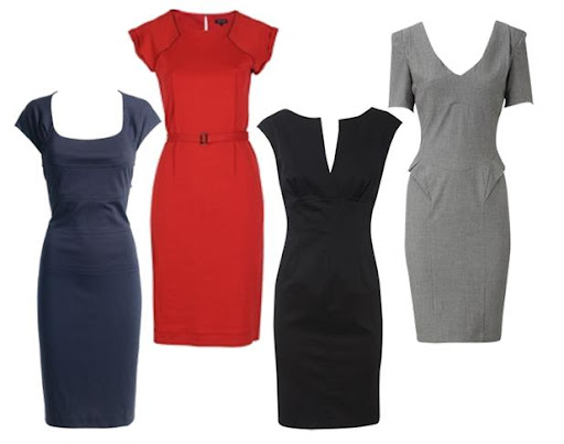 Workwear - Stunning Pencil Dresses for the Workplace