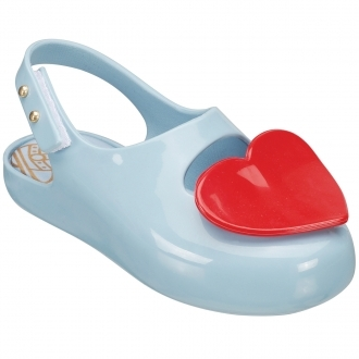 Mini Melissa Baby Heart Sky Shoes by Vivienne Westwood
