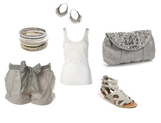 Cute Feminine Casual Summer Look by Clothes, Clothes, Clothes! Challenge of the Month