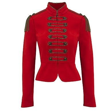 Melton Trim Jacket by Primark