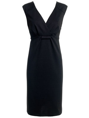 Petra Ponte Black Structured Work Dress by Monsoon