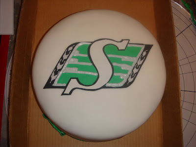 Saskatchewan Roughriders Cake(s) (3/5)