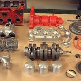 Saab 96 Monte Carlo Engine, parts restored