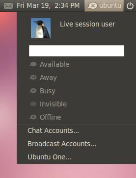 ubuntu lucid 10.04 beta 1 memenu screenshot