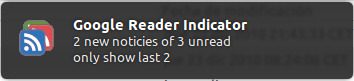 Install Google Reader Indicator for Ubuntu