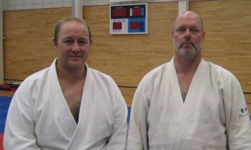 Phil with Robert Mustard Sensei