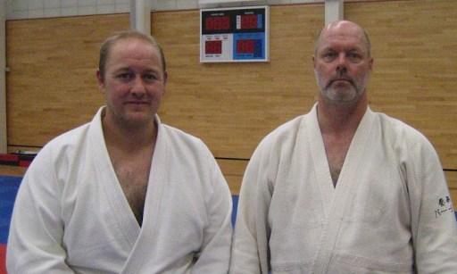 Phil with Robert Mustard Sensei