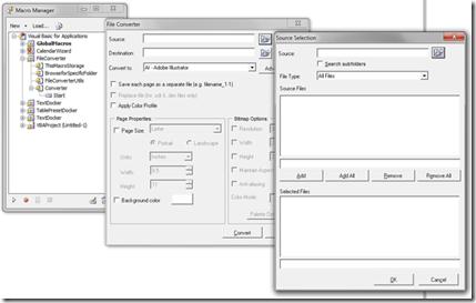 Coreldraw-batchFile-macro-manager