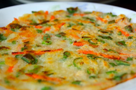 Vegetable Pancakes-Pajeon