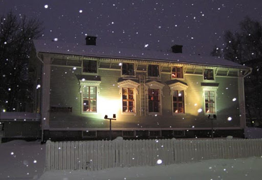 Het gebouw van de gemeentelijke woningbouwvereniging van Tornio