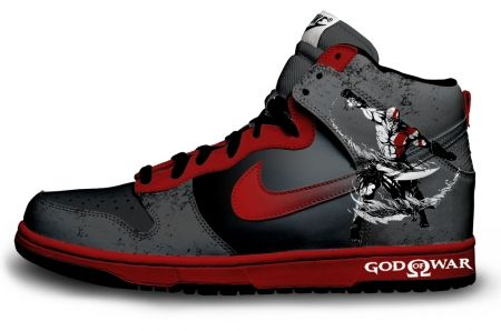 Gambar : Nike-shoes-design-god-war