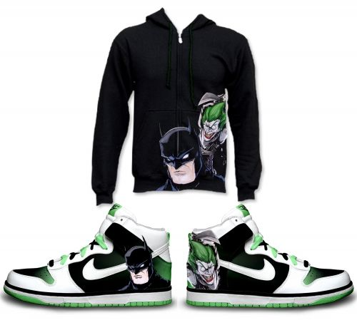 Gambar : Nike-shoes-design-batman-joker
