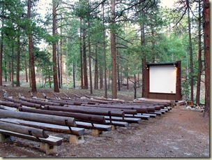 Campground amphitheater North Rim Grand Canyon National Park Arizona