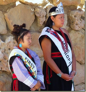First Attendant & Miss Hopi Native American Heritage Days North Rim Grand Canyon National Park Arizona