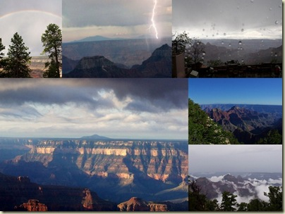 weather North Rim Grand Canyon National Park Arizona