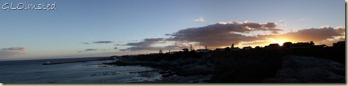 Sunset Walker Bay Hermanus Western Cape South Africa