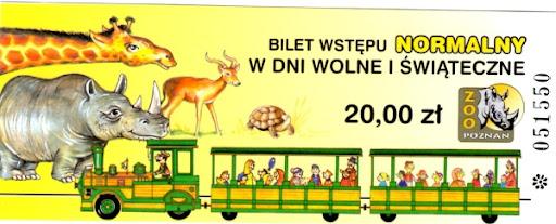 Bilet wstępu normalny w dni wolne i świąteczne do poznańskiego Nowego Zoo