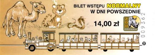Bilet wstępu normalny w dni powszednie do poznańskiego Nowego Zoo