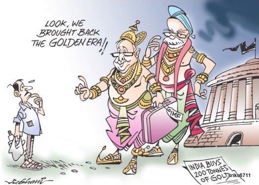 RBI increasin faith in gold ...?