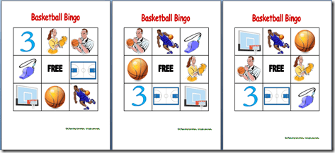 Basketball Bingo