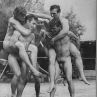 Naked Male Camaraderie