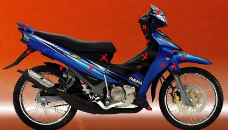 2001 Yamaha 125z 1st Model Restoration Project Motomalaya Net