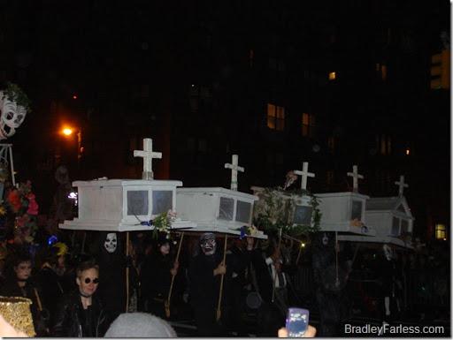 2010 New York City Halloween Parade.