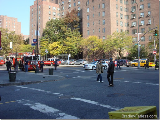 FDNY shut down 14th St. between Ave A and B.