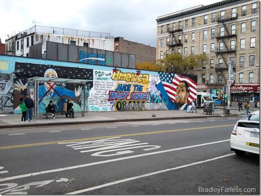 Wall Graffiti Ave C
