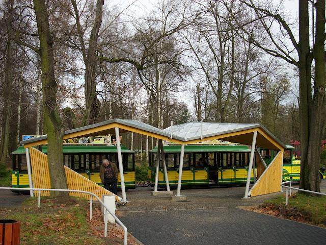 Przystanek początkowy kolejki - Nowe Zoo Poznań