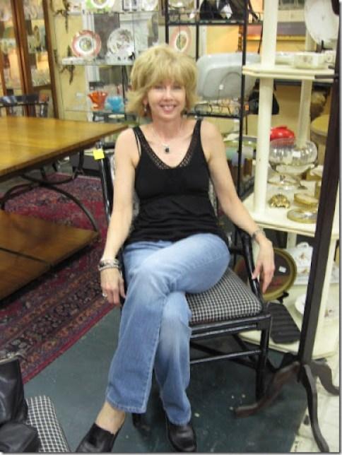 Rhoda & Toile chair