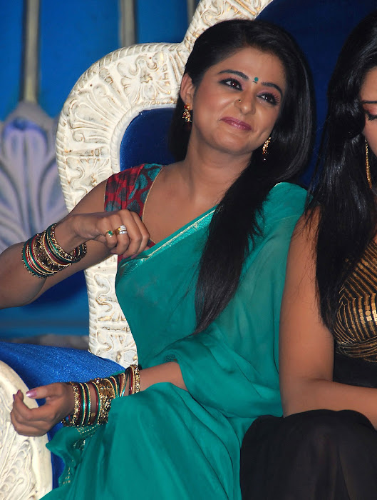 priyamani wearing green saree high quality