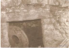 Interior de una sepultura