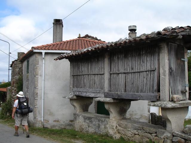 Horreo Gallego, usado como secadero de maíz