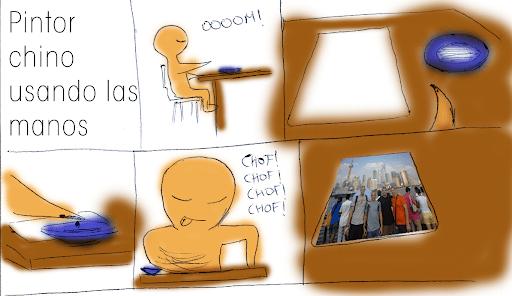Dibujante Chino