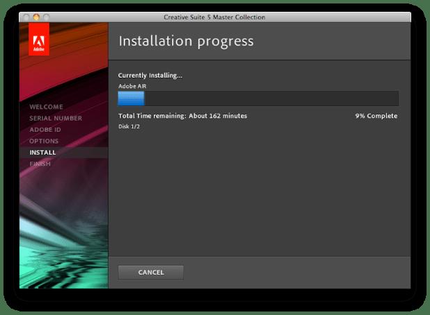 Installing in Progress 3