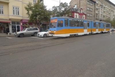 Bulgarian tram!