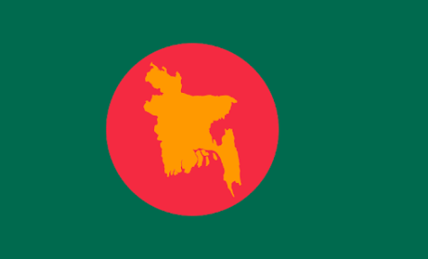 First Flag of Bangladesh