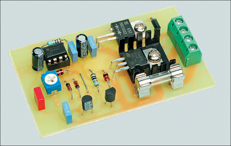 ELECTRONIC ENGINEERING PROJECT For Technical Study: 12V