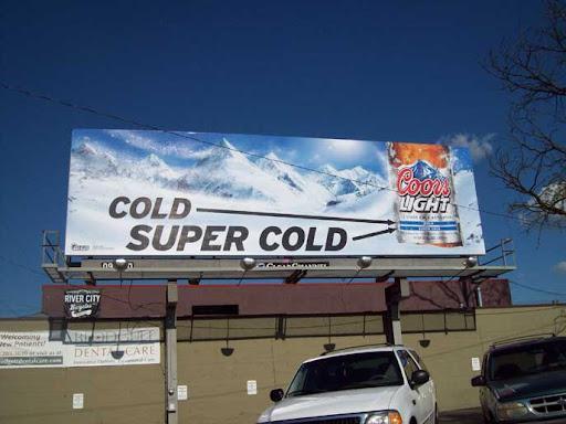 Coors billboards 1